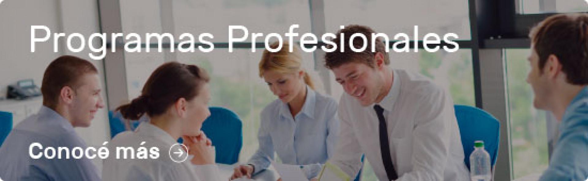 Programas Profesionales